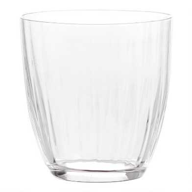 Kate Optic Stemless Wine Glasses Set of 6