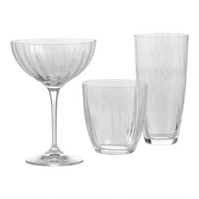 Kate Optic Glassware Collection