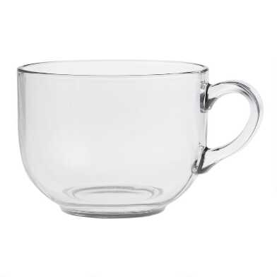 Oversized Glass Mug