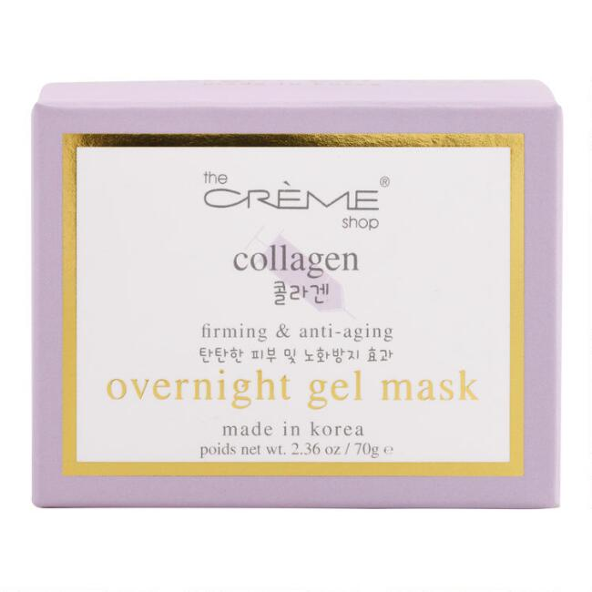 Creme Shop Korean Beauty Collagen Overnight Gel Mask