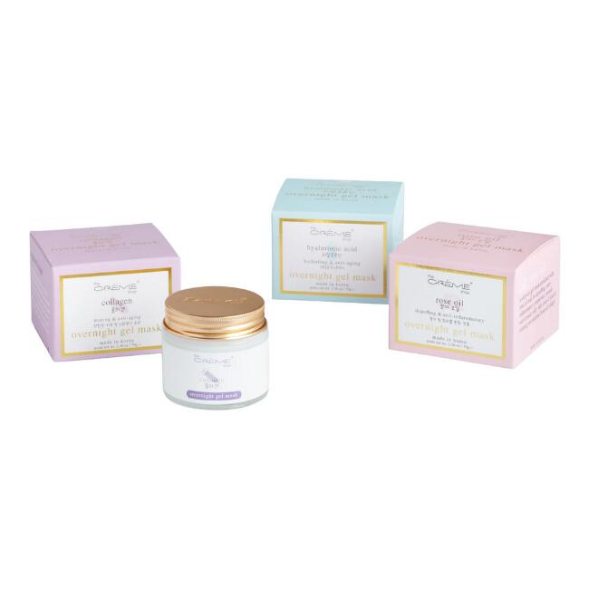 Creme Shop Korean Beauty Overnight Gel Mask Collection