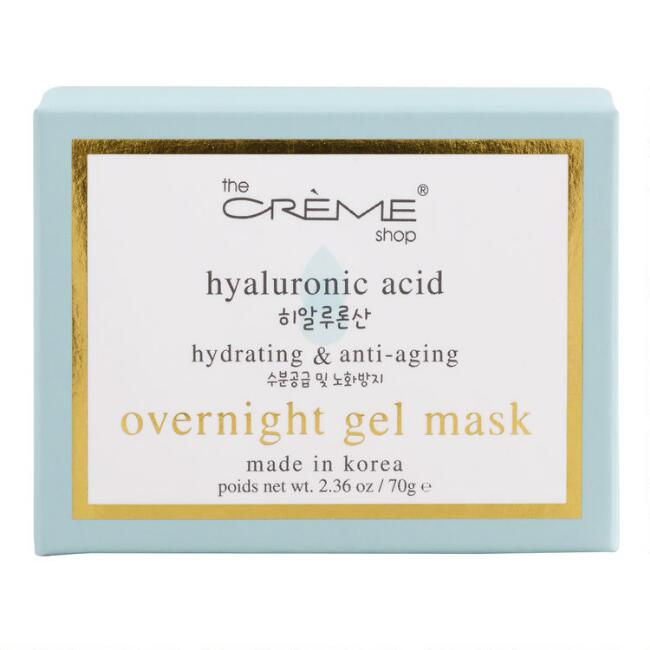 Creme Shop Korean Beauty Hyaluronic Acid Overnight Gel Mask