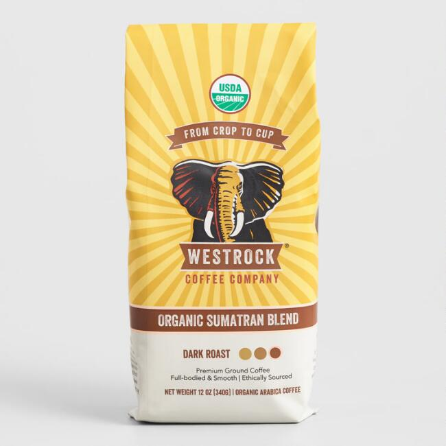 Westrock Coffee Company Organic Sumatran Ground Coffee