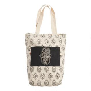 4171a73224 Hamsa Hand Canvas Tote Bag