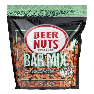 Beer Nuts Wasabi Bar Mix Pouch