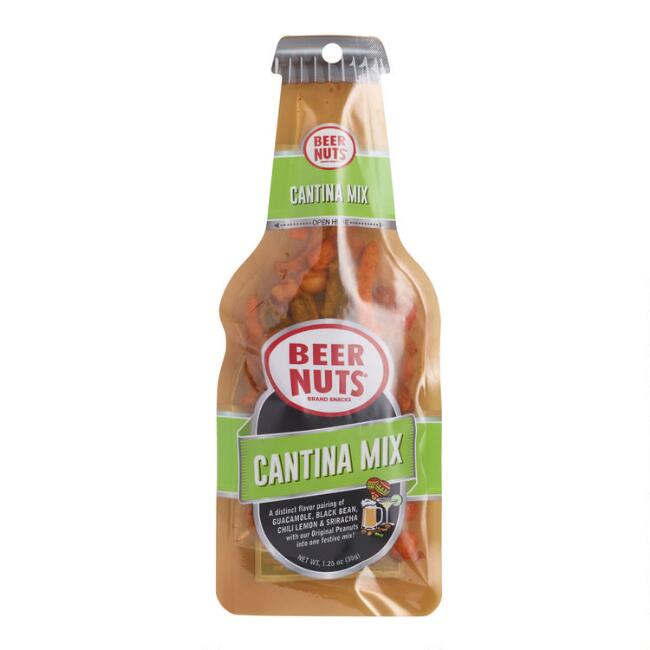 Beer Nuts Cantina Mix Beer Bottle Bag Snack Size