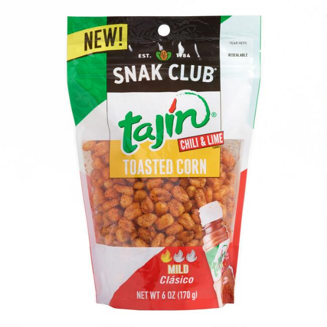 Snak Club Tajin Chili and Lime Toasted Corn