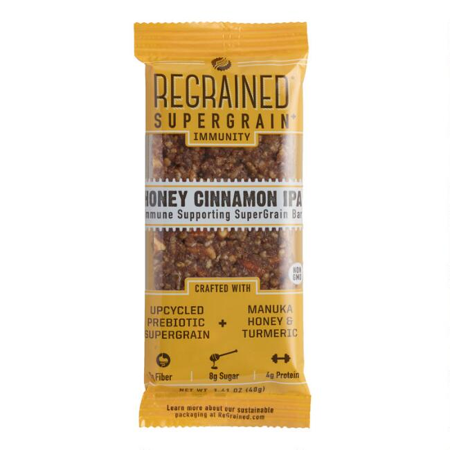 ReGrained Honey Cinnamon IPA Immunity Bar