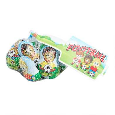 Laica Chocolate Soccer Players Mesh Bag