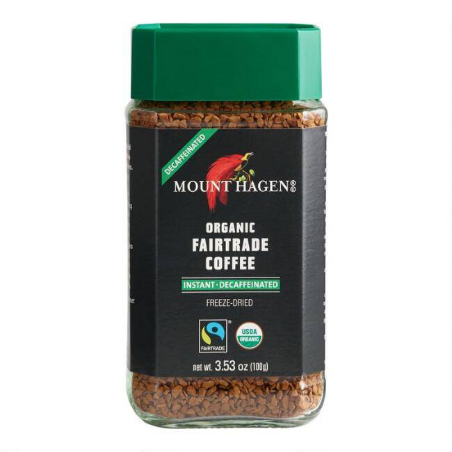 Mount Hagen Organic Fairtrade Instant Decaf Coffee