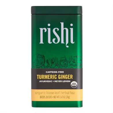 Rishi Turmeric Ginger Loose Leaf Tea