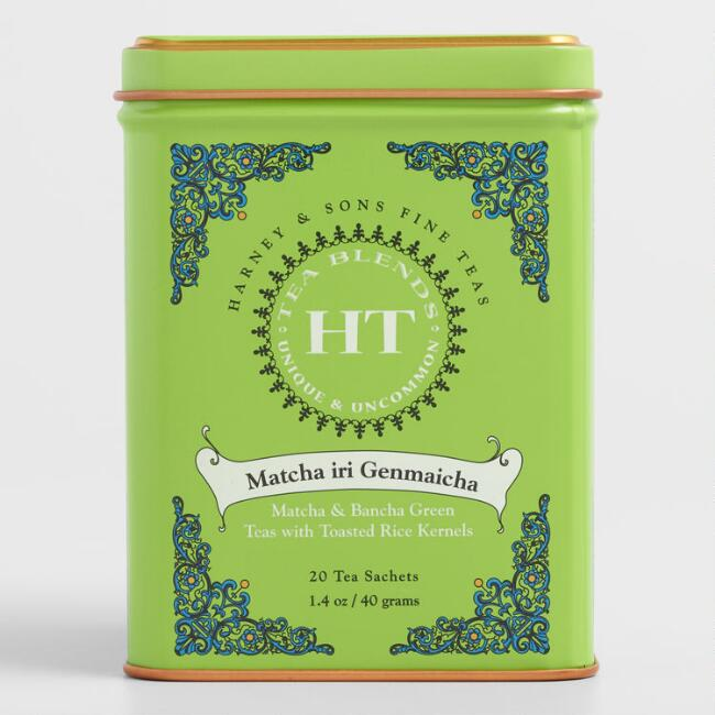 Harney & Sons Matcha Iri Genmaicha Tea Sachets 20 Count by World Market