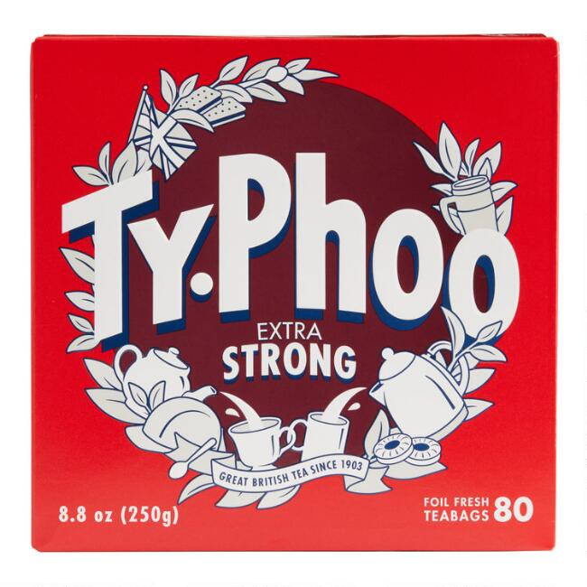 Typhoo Extra Strong Tea 80 Count