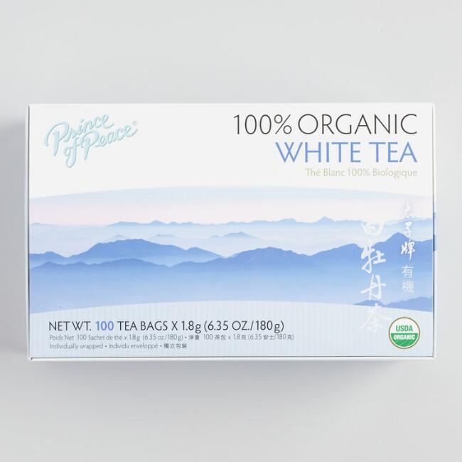 Prince of Peace White Tea 100 Count