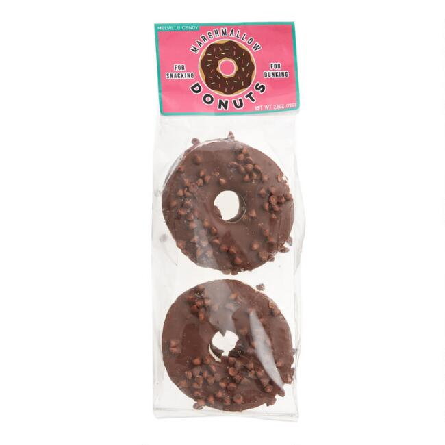 Melville Double Chocolate Donut Marshmallows 4 Pack