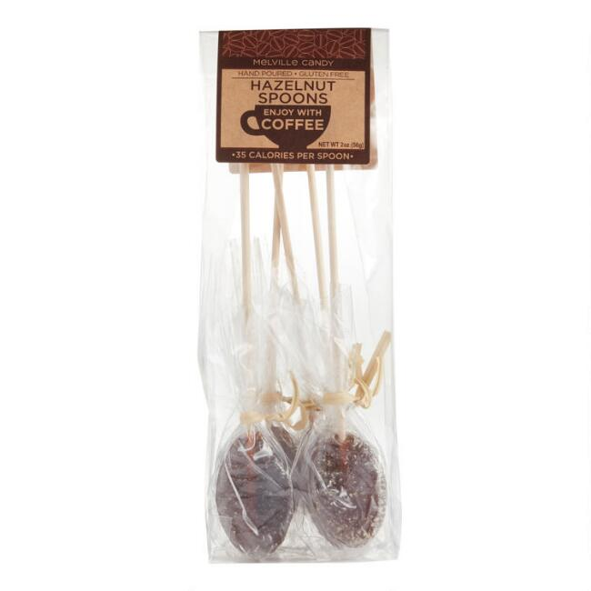 Melville Hazelnut Coffee Spoons 6 Pack