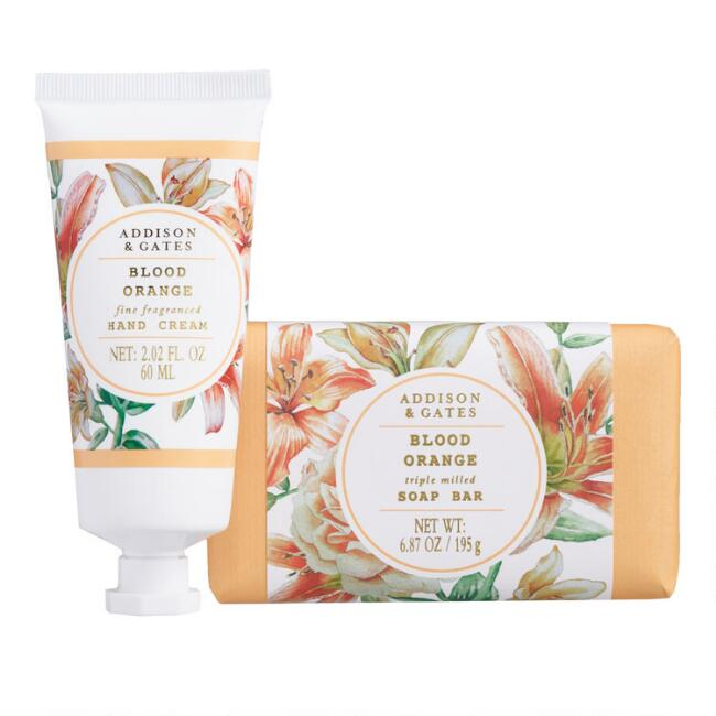 A&G Floral Wreath Blood Orange Hand Care Collection