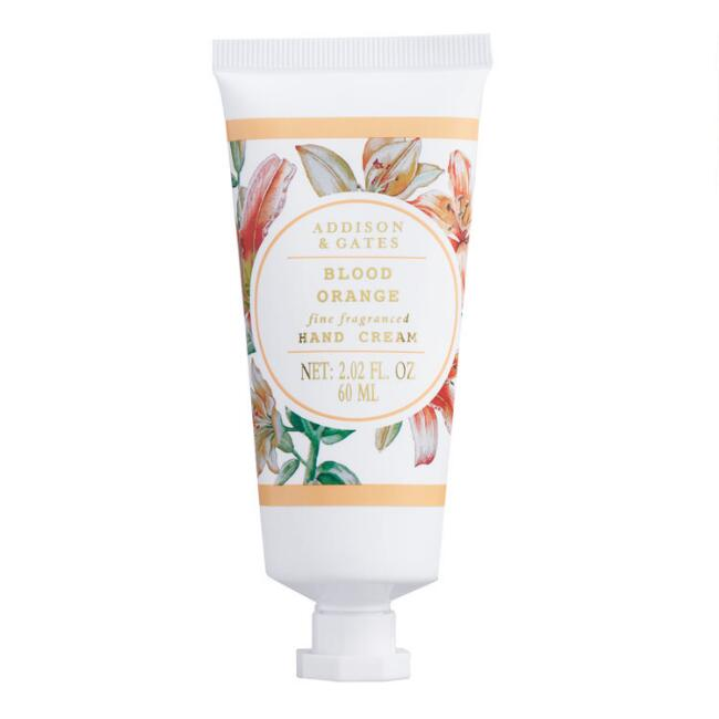 A&G Floral Wreath Blood Orange Hand Cream Set of 2