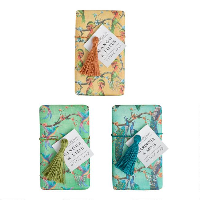 A&G Exotic Bird Bar Soap Collection