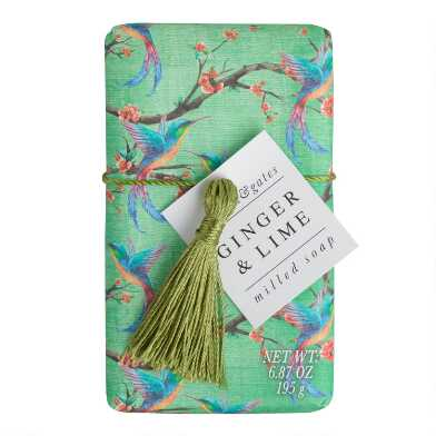 A&G Exotic Bird Ginger and Lime Bar Soap