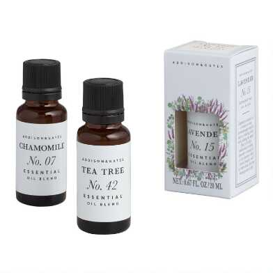 A&G Floral Aromatherapy Essential Oil Collection