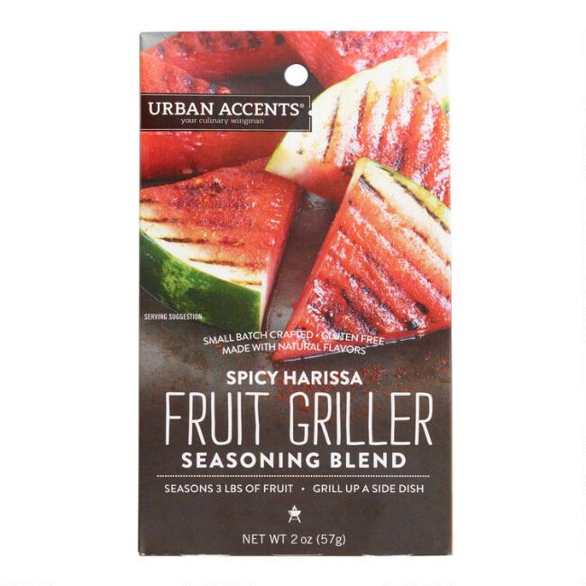 Urban Accents Spicy Harissa Fruit Seasoning Blend Set of 2
