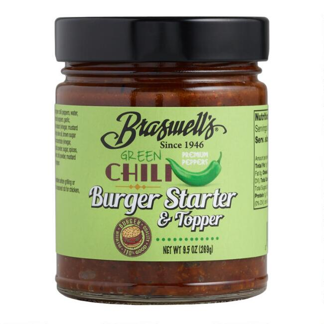 Braswell's Green Chili Burger Starter and Topper