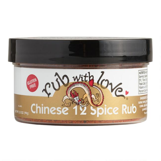 Rub with Love Chinese 12 Spice Rub