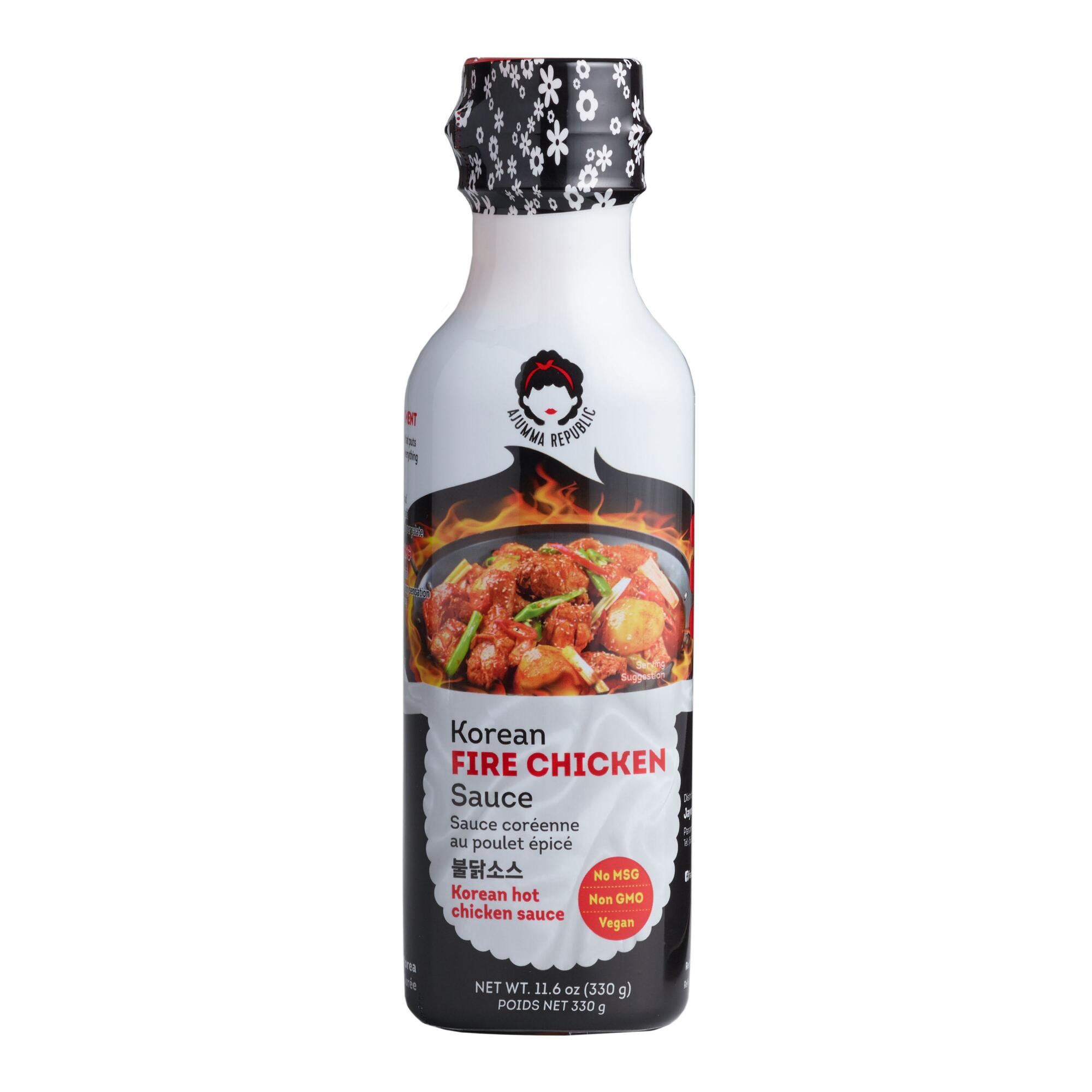 Ajumma Republic Korean Fire Chicken Sauce Set of 2 by World Market