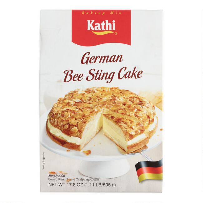 Kathi German Bee Sting Cake Mix Set of 2