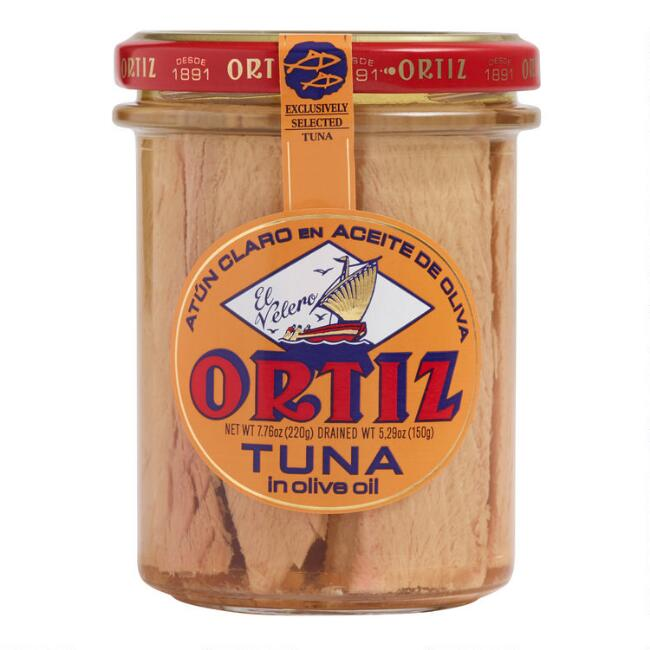 Ortiz Yellowfin Tuna in Olive Oil Jar