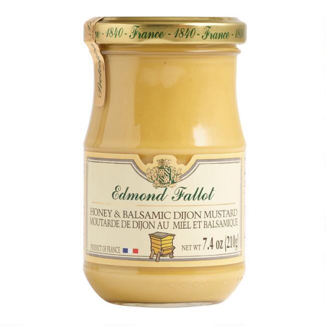 Edmond Fallot Honey and Balsamic Dijon Mustard Set of 2