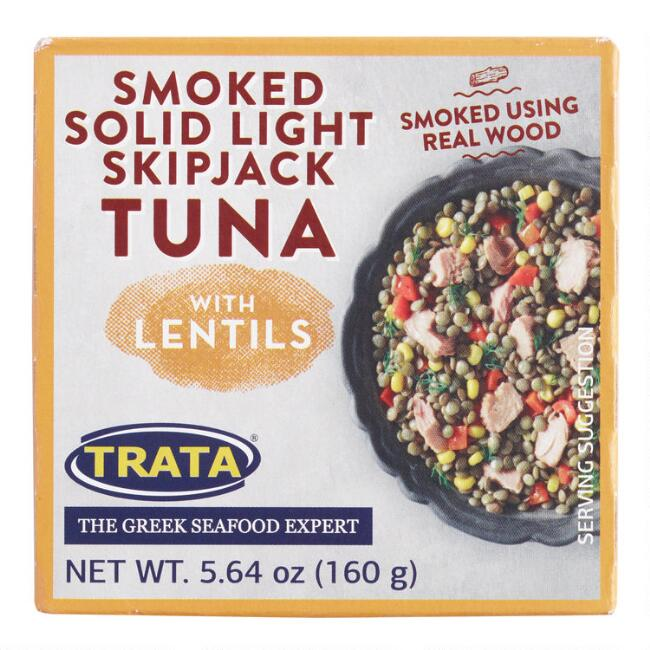 TRATA Tuna Salad with Lentils and Smoked Tuna Set of 9