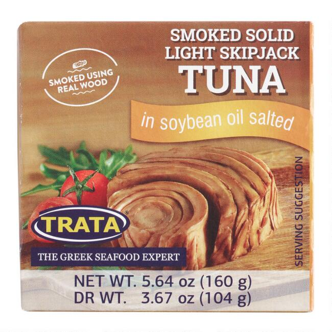 TRATA Smoked Tuna in Vegetable Oil Set of 9