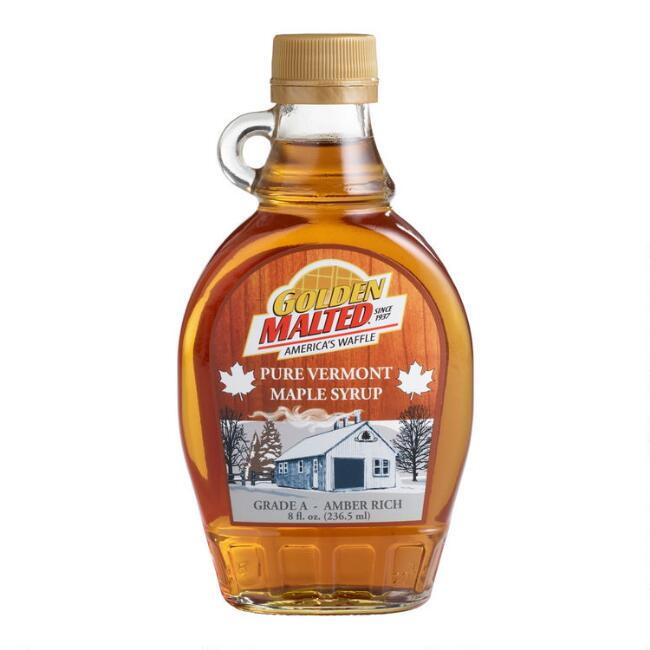 Golden Malted Pure Vermont Maple Syrup