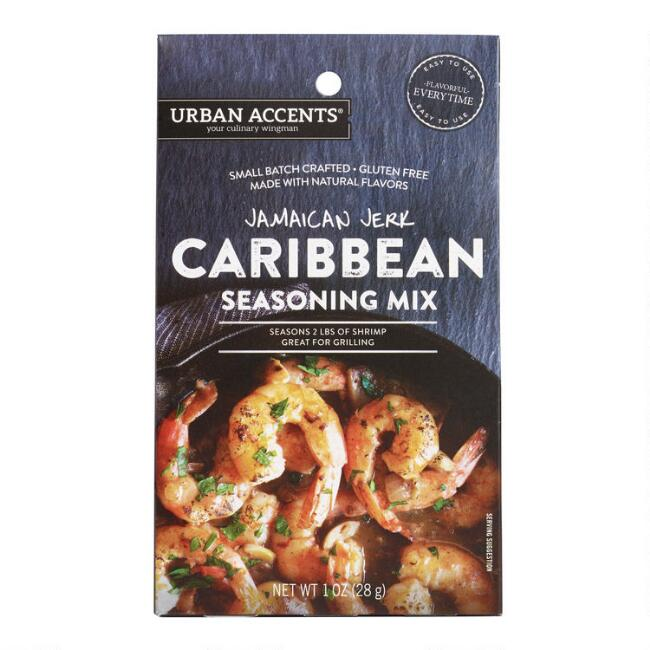 Urban Accents Jamaican Jerk BBQ Rub Set of 2