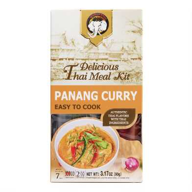 Elephant King Panang Curry Thai Meal Kit Set of 2