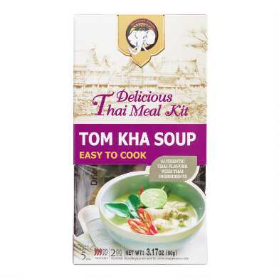 Elephant King Tom Kha Soup Thai Meal Kit Set of 2