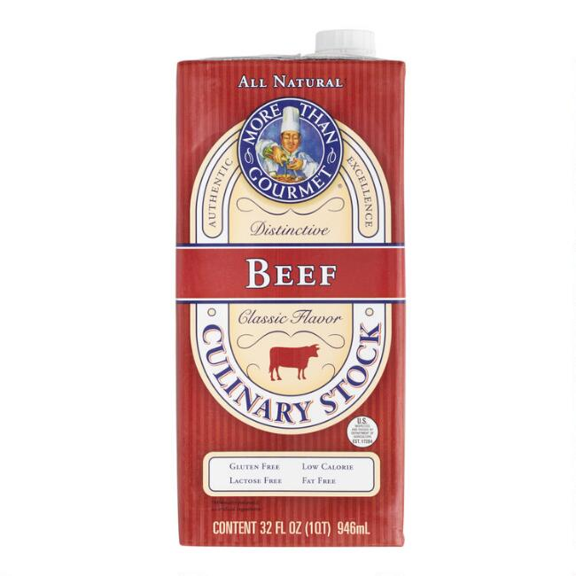More Than Gourmet Beef Stock Set of 2