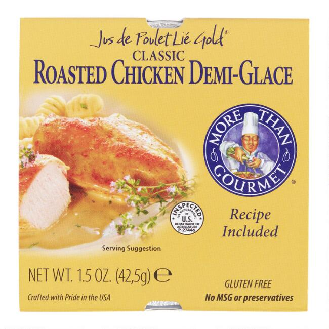 More Than Gourmet Roasted Chicken Demi-Glace Set of 2