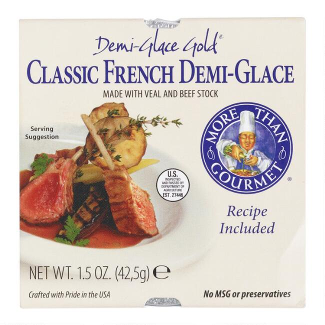 More Than Gourmet Classic French Demi-Glace Set of 2
