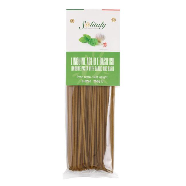 Solitaly Garlic and Basil Linguine Set of 6