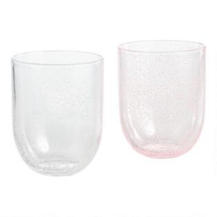 2bc068b9445 Bubble Double Old Fashioned Acrylic Glasses Set of 4