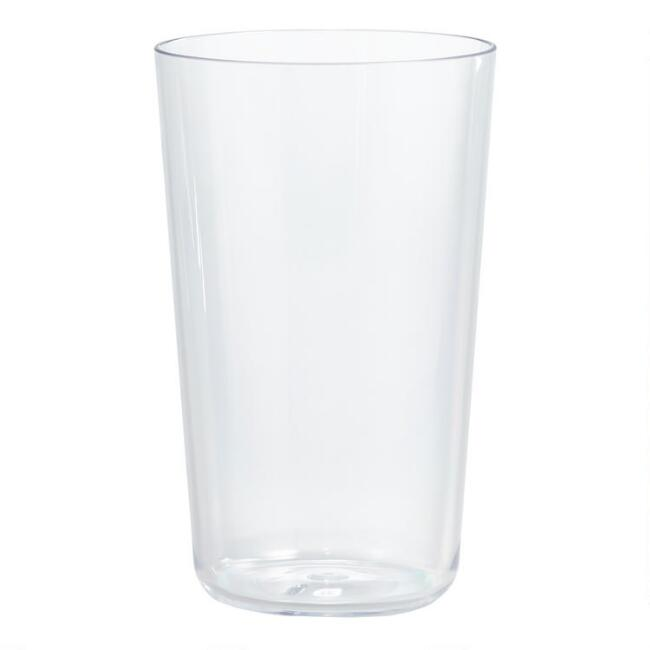 Simple Highball Acrylic Glasses Set of 4