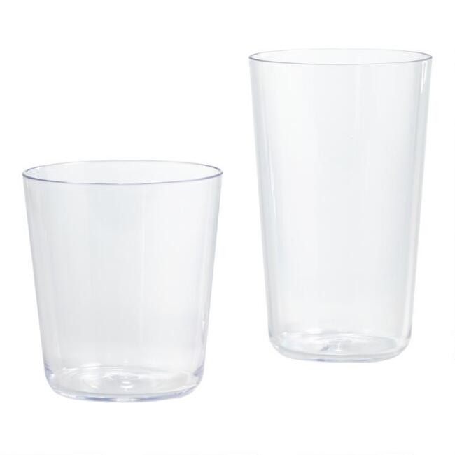 Simple Acrylic Drinkware Collection