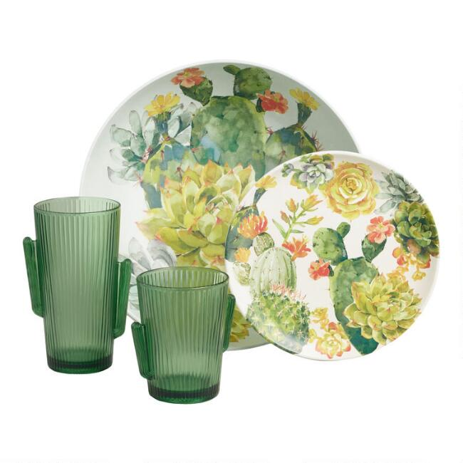 Cactus Dinnerware Collection