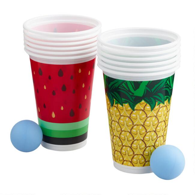 Tropical Pong Drinking Game