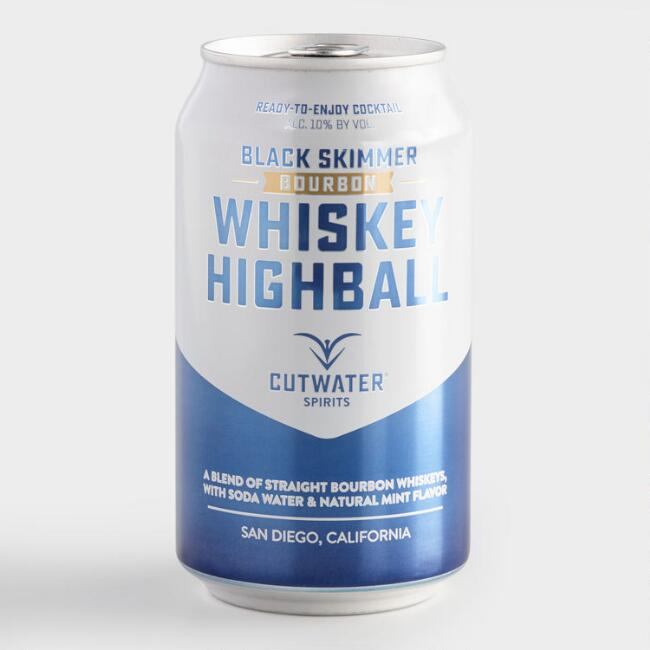 Cutwater Whiskey Highball Cocktail