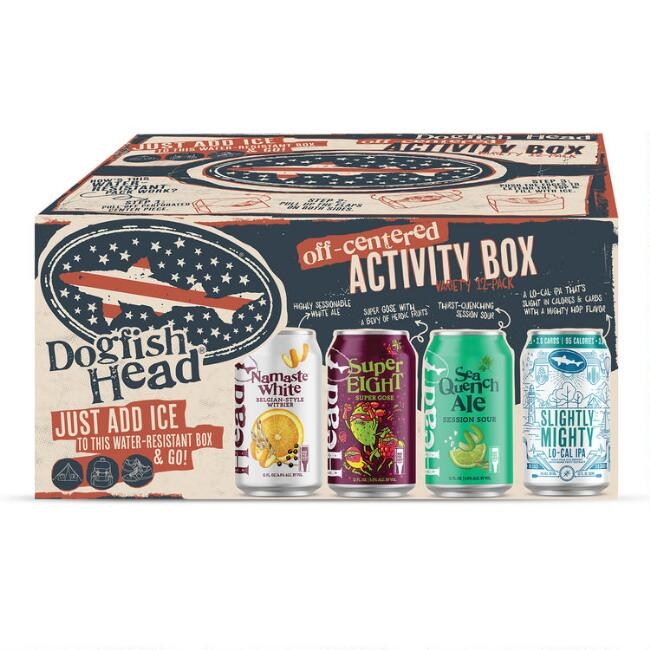 Dogfish Head Brewery Off Centered Activity Variety 12 Pack