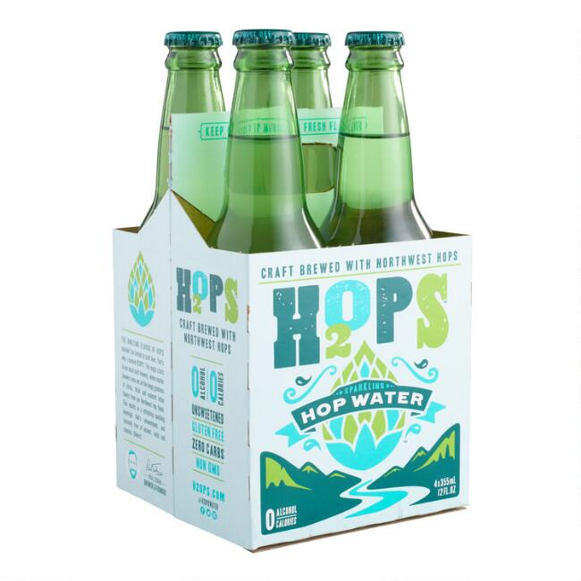 H2OPS Sparkling Hop Water 4 Pack